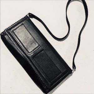 {Anya Hindmarch}  Leather Envelope Shoulder Bag